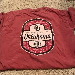 Comfort Colors Tops - OU COMFORT COLOR
